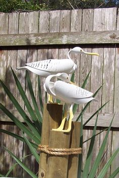 My Owl Barn: Bird Sculptures Made From PVC