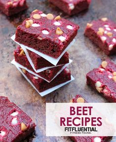 Inflammation fighters and cancer preventers, Beets are also rich in Vitamin C, fiber, potassium, manganese and folate. While beets are naturally sweet and pack a flavor punch in sweet dishes, they can also make a savory dish pretty addicting. Here are some dishes that will help you get your beet on! - See more at: http://fitfluential.com/2014/10/the-beet-is-on-amazing-beet-recipes-to-try/#sthash.sV76btLz.dpufThe Beet Is On! Amazing Beet Recipes to Try