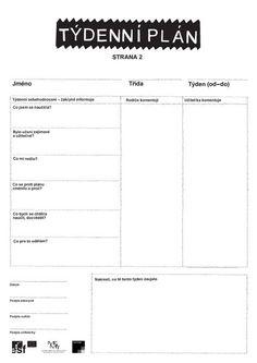 Projekt Kvalita I: Žákovské aktivity Primary Teaching, English Classroom, Educational Activities, Planer, Montessori, Homeschool, Self, Teacher, How To Plan