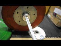 Garage gym equipment Rogue v Eleiko bearing barbells YouTube