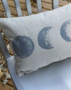 DIY Room Decor:  How To Make a Moon Phase Pillow   Apartment Therapy Reader Project Tutorial