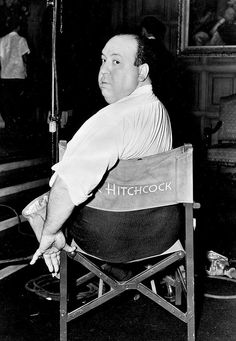 Alfred Hitchcock, ca. 1930's. ☀