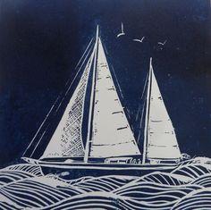 boat linocut - Google Search Sailing Ships, Boat, Google Search, Dinghy, Boats, Tall Ships, Ship