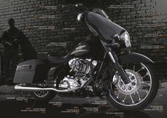 Harley Davidson Street Glide - FLHX  Just seeing if anyone is paying attention...Bahahaha