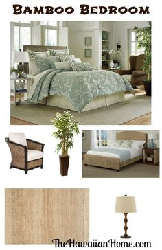 bamboo bedroom design