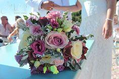 Pink shades for a Wedding Bouquet!  #weddingbouquet #bouquet #wedding #flowerdesign #flowerdecoration #pinkflowers #weddingincorfu #corfu #νυφικηανθοδεσμη #ανθοδεσμη #νυφικομπουκετο #λουλουδια #στολισμουςγαμου #γαμος #κερκυρα #rizosgarden Wedding Videos, Post Wedding, Floral Bouquets, Floral Wreath, Start Tv, Corfu Holidays, Wedding Window, Beach Bars, Wedding Flowers