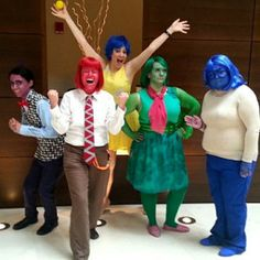 Disney's Inside Out Costumes - RedheadedSeamstressRedheaded Seamstress