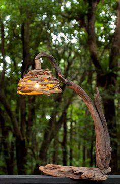 流木の照明-6