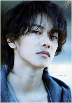 "Takeru san as Aki Ogasawara (another one of my favorite characters from his movies) from ""The Liar and His Lover"" for Japanese film Navi magazine vol."