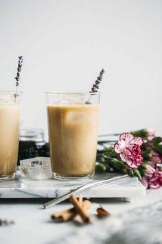 Iced Lavender Dirty Chai Latte