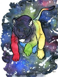 Defender of the Universe by kikitr0n --- Voltron Lion