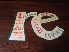 Teaching Language Arts, Classroom Language, Teaching Writing, Teaching Ideas, Reading Lessons, Reading Skills, Word Study, Word Work, Prefixes And Suffixes
