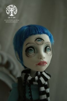 OOAK Monster high Spectra Blue Jay's Soul