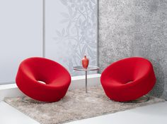 Living Room Leisure Chair Red Velvet Round Casual Chair Made In China Contemporary Home Furniture, Modern Contemporary Homes, Christmas Gadgets, Unique Gadgets, Home Technology, Metal Furniture, Floor Chair, Bean Bag Chair, Living Room