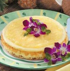 Recipe for Hawaiian Cheesecake - A TASTE of the tropics is as close as your kitchen, thanks to the delectable dessert here!