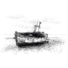 Boat Drawing, Sketch A Day, Uk Shop, Sketches, Drawings, Artist, Prints, Artists, Doodles