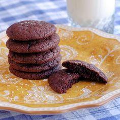Nutella & Sea Salt Cookies - Rock Recipes - Rock Recipes