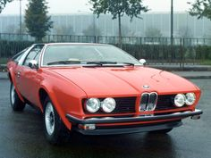 '76 BMW 528 GT Coupe | BMW | classic cars | red cars | red BMW
