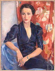 Portrait, 1936 by Jan Sluijters (Dutch 1881-1957)