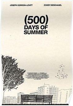 Sketch 500 Days of Summer poster. Joseph Gordon Levitt, Poster Art, Poster Design, Poster Frames, Poster Ideas, Zooey Deschanel, Love Movie, Movie Tv, Perfect Movie