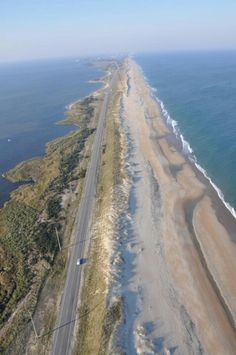 The Outer Banks Scenic Byway, NC winds through the Cape Hatteras National Seashore and makes for an unforgettable OBX adventure! Outer Banks North Carolina, Outer Banks Nc, Outer Banks Vacation, Vacation Spots, North Carolina Beaches, Carolina Usa, Places To Travel, Places To See, Viajes