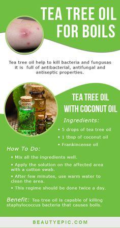 Tea Tree Oil For Boils