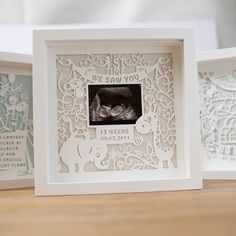 Paper cutting, baby stuff ideas, baby scan, from paperandscissors, sarah Evans! Http://paperandscissors.co.uk, paper craft