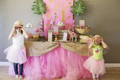Pink & Gold Safari Glam Birthday Party Ideas | Photo 8 of 17 | Catch My Party