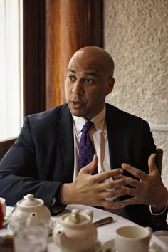Senator Cory Booker, the first African-American to represent New Jersey in the United States Senate. (Photo: Malin Fezehai for The New York Times)