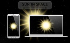 Sun in Space wallpaper by TheGoldenBox