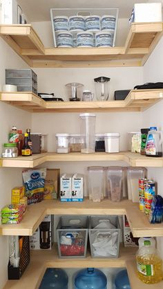Kitchen Storage Ideas For Small Spaces Diy Options 44 - degmar.pinset - Kitchen Storage Ideas For Small Spaces Diy Options 44 – - Kitchen Pantry Storage, Pantry Shelving, Kitchen Pantry Design, Home Decor Kitchen, Interior Design Kitchen, Home Kitchens, Small Pantry, Pantry Doors, Diy Kitchen Ideas
