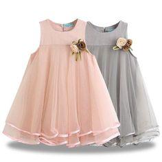 Sheer Flow Party Dress Little Girl Dresses Dress Flow Party Sheer Baby Dress Design, Frock Design, Little Girl Dresses, Girls Dresses, Flower Girl Dresses, Baby Dresses, Flower Girls, Dresses For Kids, Toddler Girl Dresses