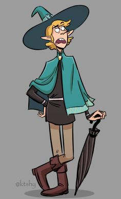 The Adventure Zone podcast has been keeping me super entertained during my latest work deadline, so here's a fanart of Taako the Wizard