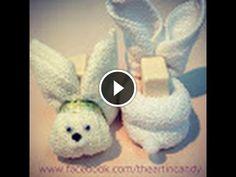 tra un punto e l'altro: IL coniglio Fatto con lo straccio