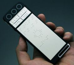 Image: Braille smartphone to revolutionise life on the go for the blind