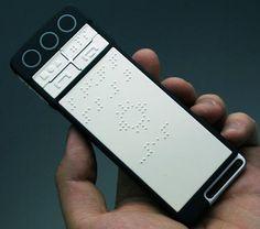 Braille smartphones