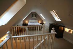 Lovely attic room! #attics #atticbedrooms homechanneltv.com