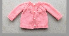 Simple stylish knitting & crochet patterns from a popular independent designer. Baby Cardigan Knitting Pattern Free, Baby Sweater Patterns, Knitted Baby Cardigan, Knit Baby Sweaters, Baby Dress Patterns, Baby Hats Knitting, Baby Knitting Patterns, Crochet Patterns, Free Knitting