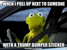 Funny Donald Trump Memes: Trump Bumper Sticker