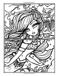 Amazon.com: Enchanted Halloween: A Whimsy Girls Fantasy Coloring Book…