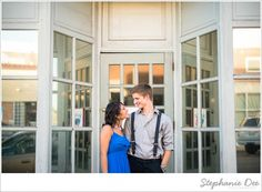 Miki & Jeff | Old Town Manassas Engagement » Stephanie Dee Photography