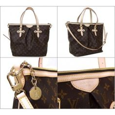 Louis Vuitton Monogram Canvas Palermo GM Handbag M40146