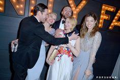 Pin for Later: Die 40 besten Fotos der Oscars  Justin Timberlake, Jessica Biel, Kate Bosworth, Patricia Clarkson und Michael Polish ließen es krachen bei der Vanity Fair Oscars Party.
