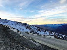 Cardrona Ski Field Sunset