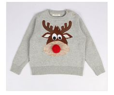 Christmas Sweater - Deer //Price: $33.99 & FREE Shipping //     #babyfashion