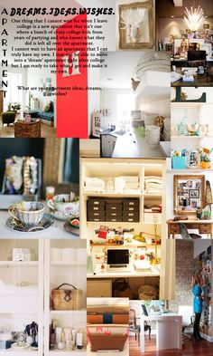 InaWorldofBees   Dream Apartment Ideas