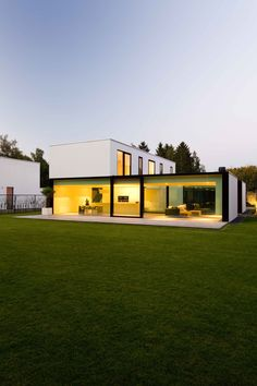 icoon.be architecten minimalist house