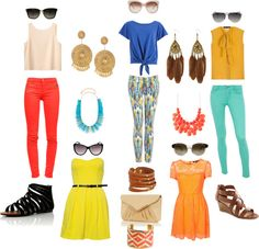 I like most of this...except for the pants with blue :/