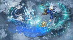 rise of the guardians x frozen, elsa, jack frost