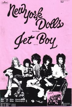 New York Dolls #glam #USA #70s